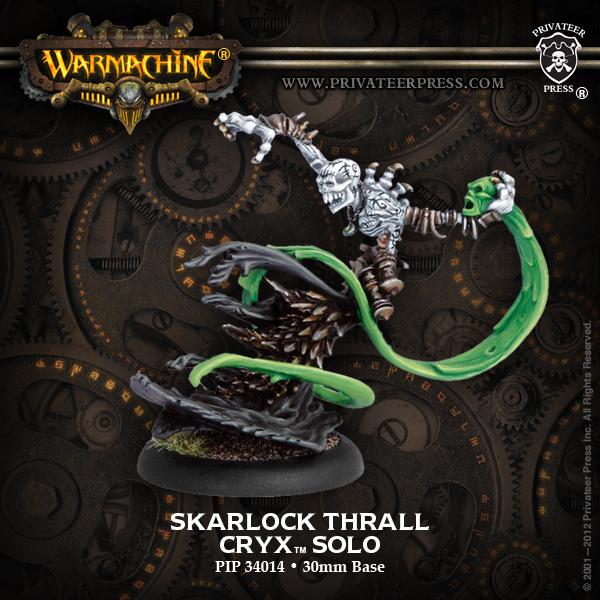 Cryx Skarlock Thrall