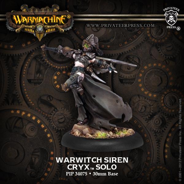 Cryx Warwitch Siren