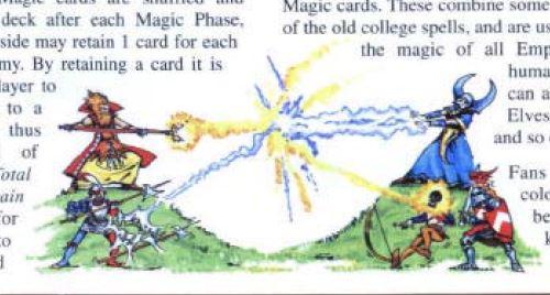 Una de las ilustraciones del manual de 5 de Warhammer