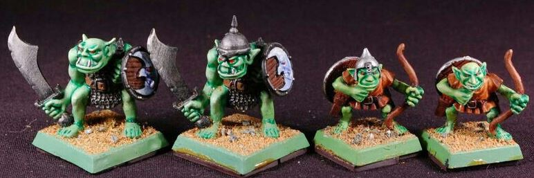 Warhammer plastic orc 90s