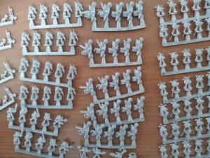 Más infantería... es tanta que no me cabía en una foto :D