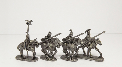 Pendraken ASP6 spanish cavalry