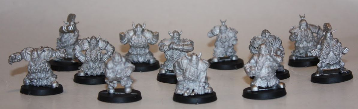 Star Player Miniatures enanos montados