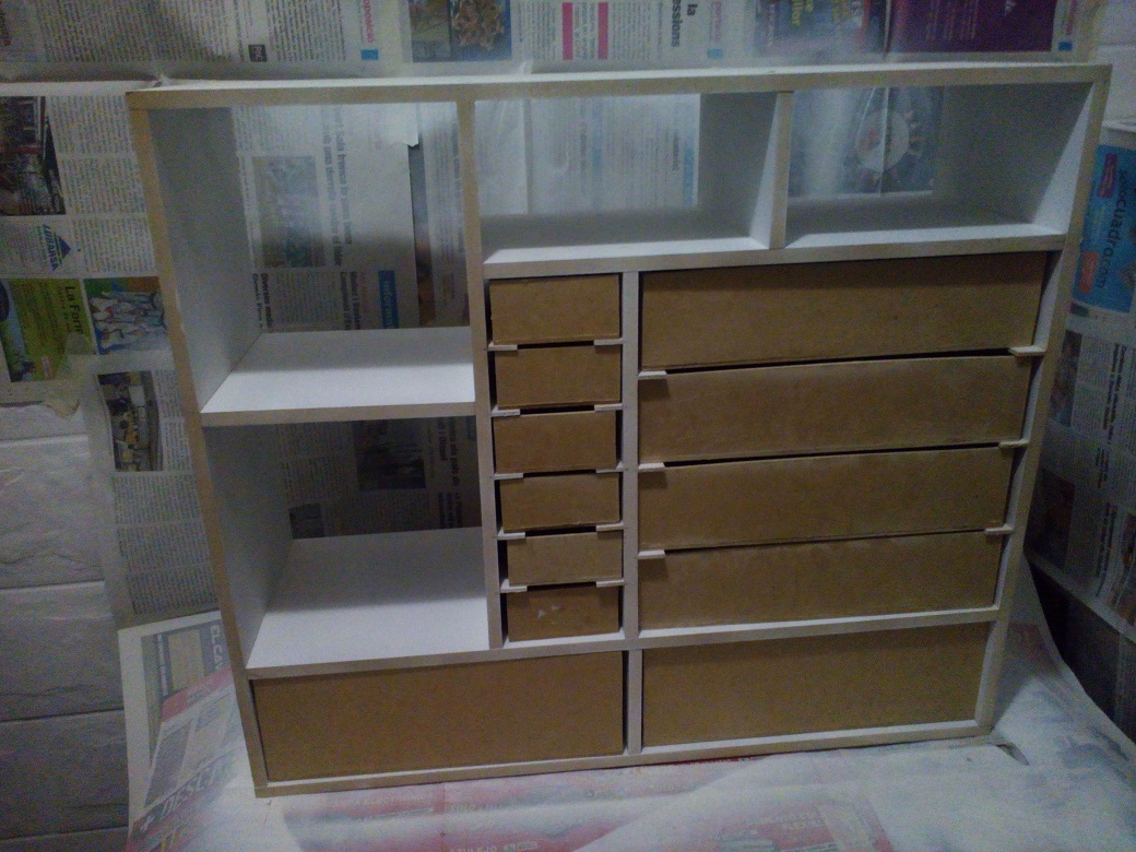 hobby mueble para herramientas casero cargad