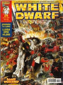 ¡La antigua White Dwarf sí que molaba! Este era el nº24