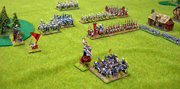 Warmaster battle