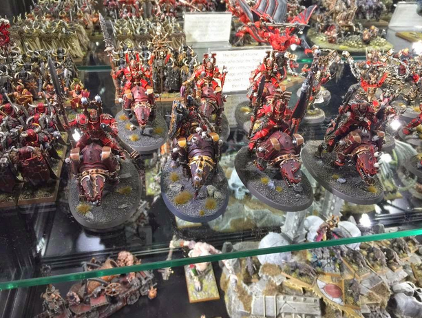 warhammer world chaos round bases