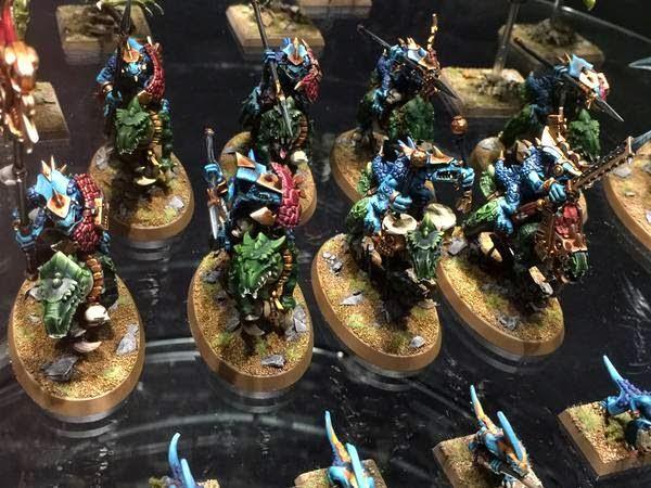 warhammer world lizardmen round bases 2