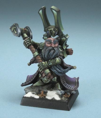 77220 Herryk, dwarf cleric (e Bobby Jackson, p Philip Esterle)