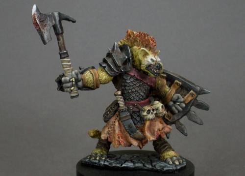 77236 Bloodmane, gnoll warrior (e Tre Manor, p Sean Fulton)