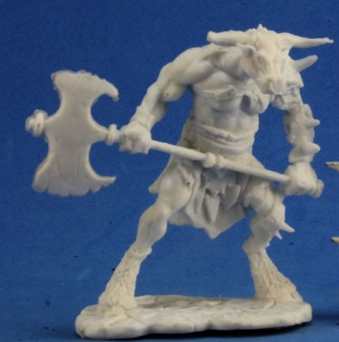 77251 Bloodhoof, minotaur barbarian