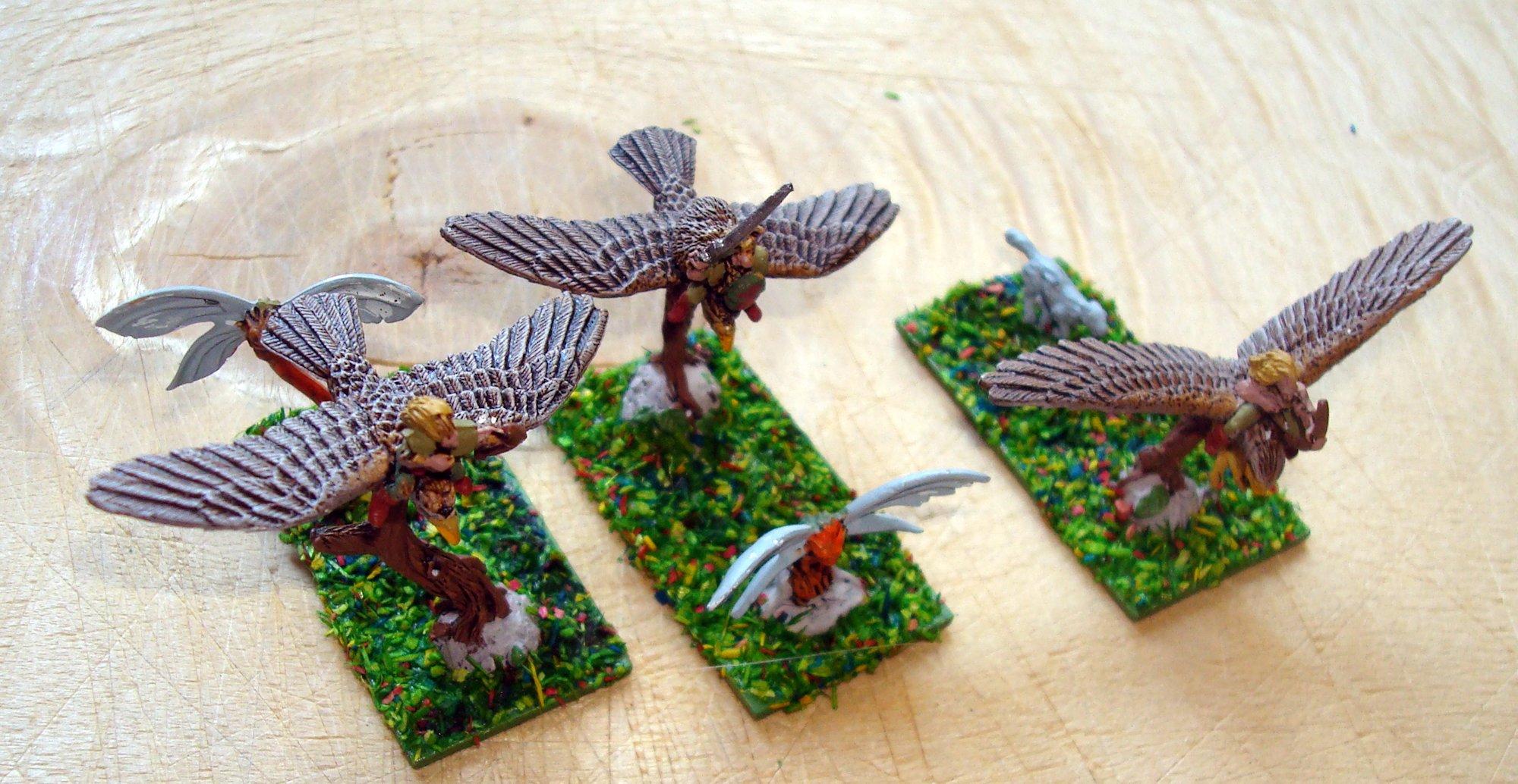 Nama 2015.06 Warmaster elfos silvanos Eureka jinetes halcon