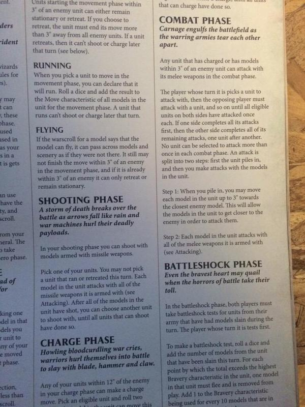 Warhammer Age of Sigmar reglas 5