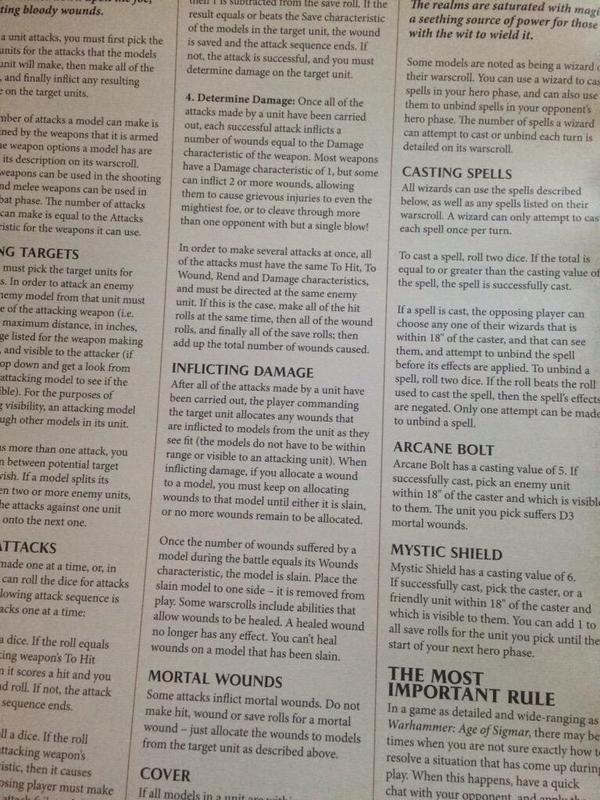 Warhammer Age of Sigmar reglas 6