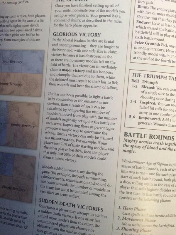 Warhammer Age of Sigmar reglas 7
