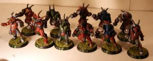 Un puñado de cabras de Warhammer, un poco de chuchilla... ¡y listo! Ya tienes tu equipo de Blood Bowl