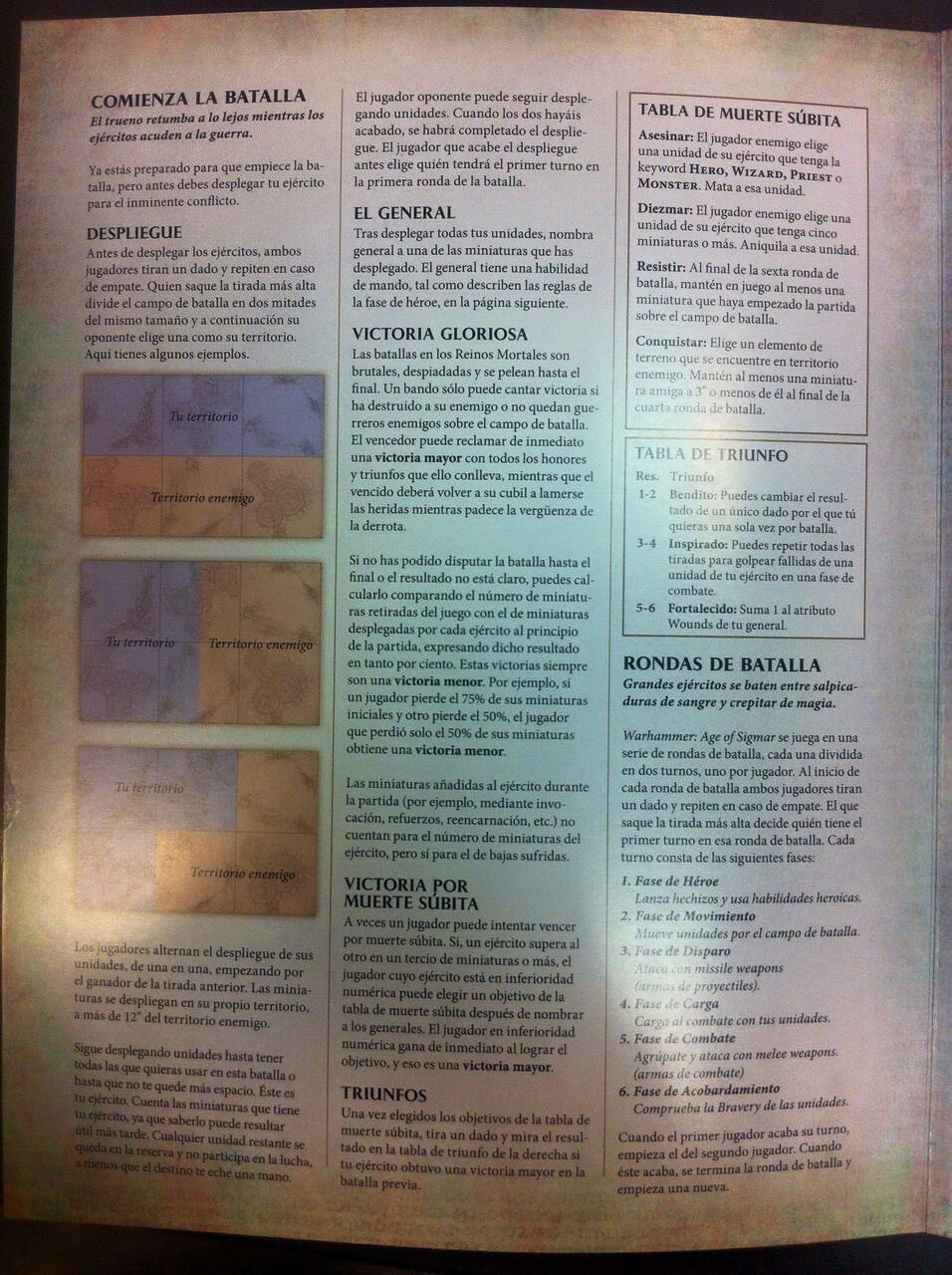 Warhammer Age of Sigmar Reglas 2