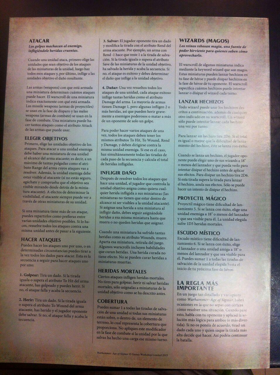 Warhammer Age of Sigmar Reglas 4
