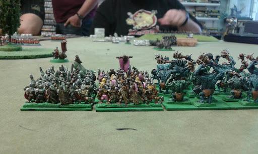 Warmaster batalla