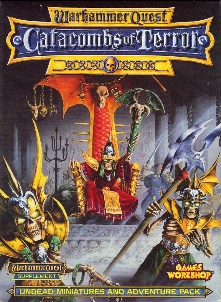 Warhammer Quest Catacombs of Terror