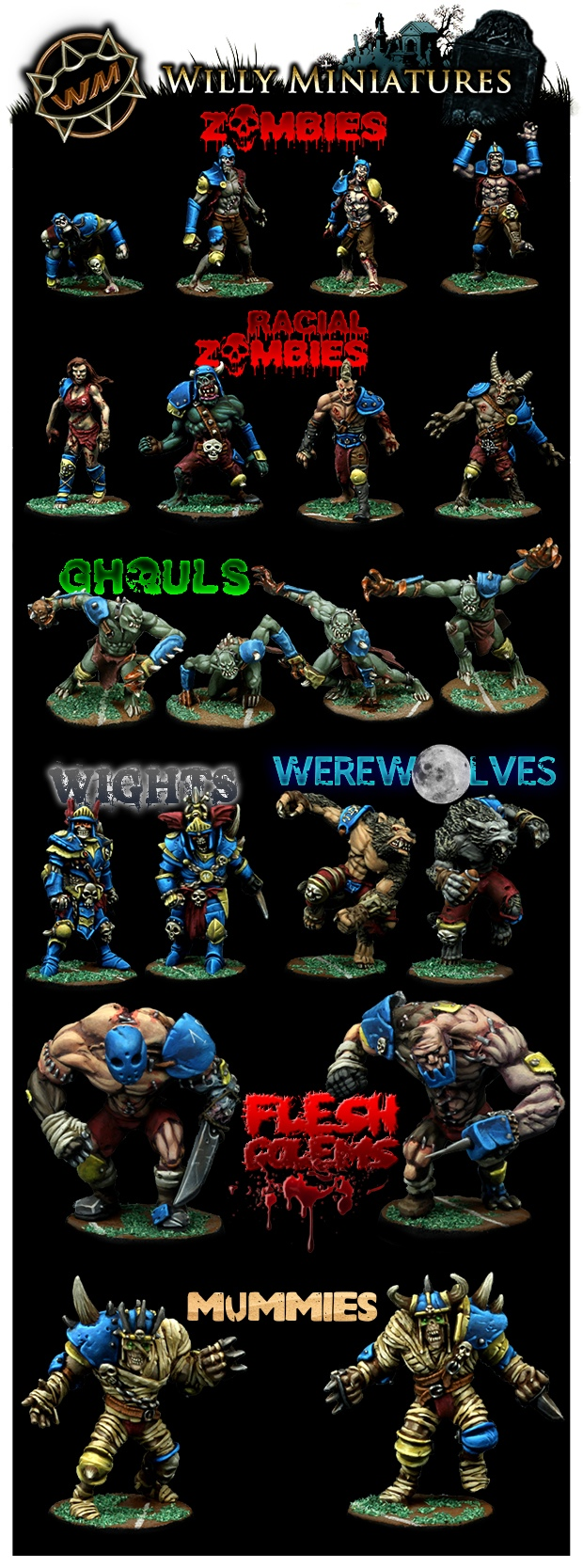 Willy Miniatures Undead
