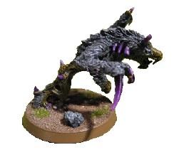 Los Mastines del Caos de Warhammer pueden valer para hacer un Kashnarak