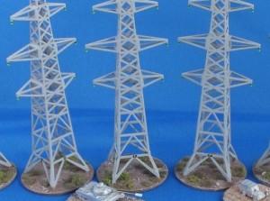 ¿Os imagináis un campo de batalla con torres de estas?