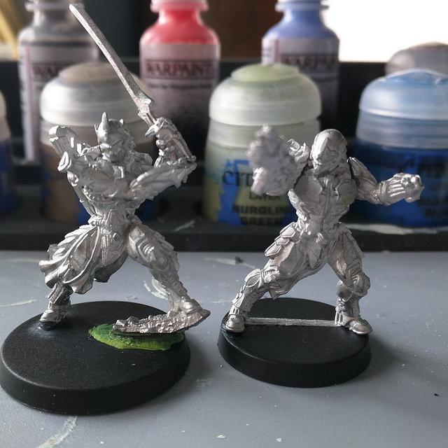 Last Saga: Maestre y Caballero con rifle de batalla