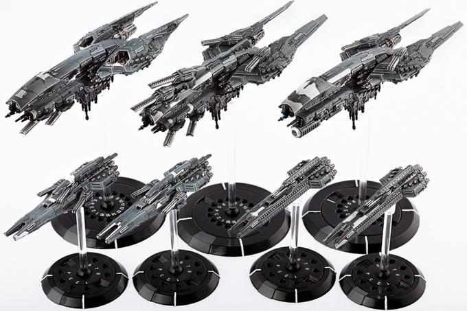 Dropfleet Commander UCM Starter fleet