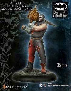 Harley Quinn Thug Worker