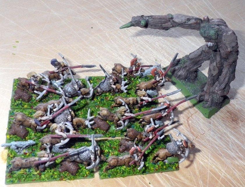 Warmaster Eureka Wild Riders Fenryll Treeman