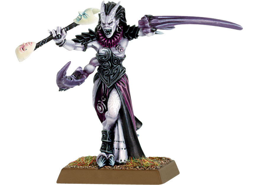 Mascara de Slaanesh