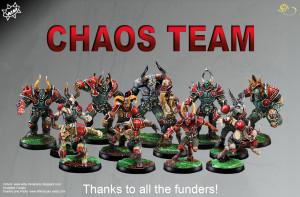 El soberbio equipo del Caos de Willy Miniatures