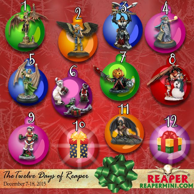 12 Days of Reaper 2015