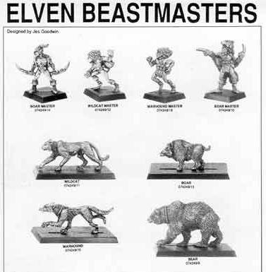 3ed elven beastmasters