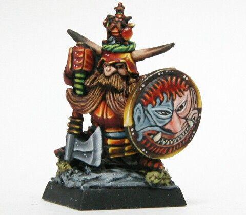 Comandante Enano del Caos Señor de la Fortaleza