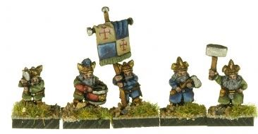 Magister Militum FDW1 Dwarves with hand weapons