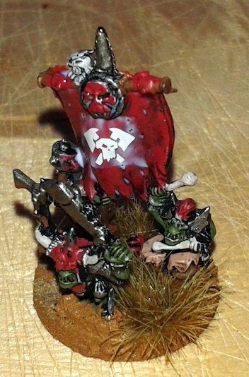Warmaster Orcos y goblins Nama Heroe orco