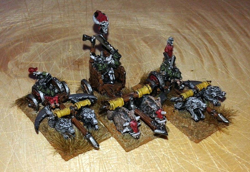Warmaster Orcos y goblins Nama Karros