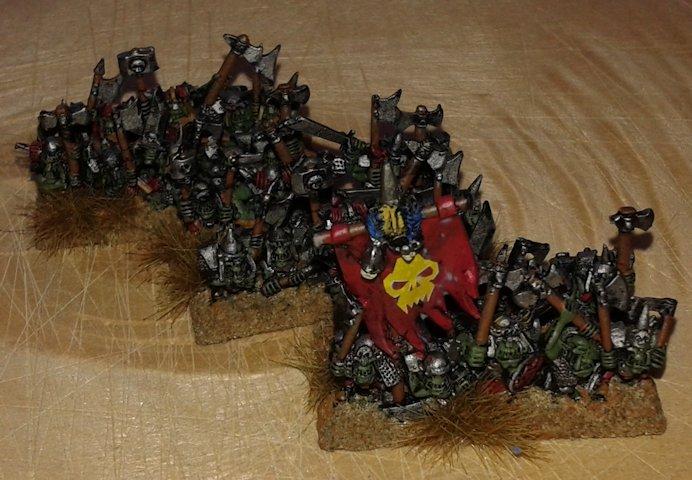 Warmaster Orcos y goblins Nama Orcos negros