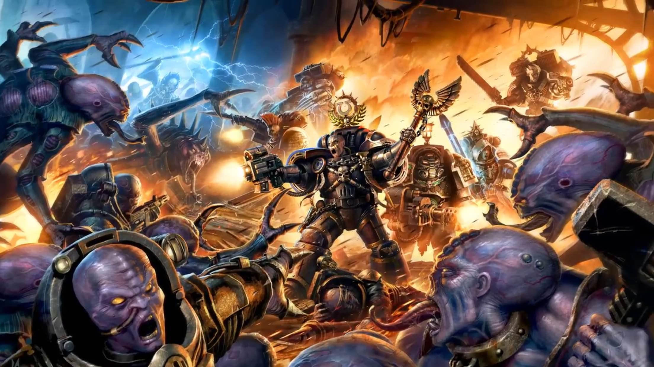 Deathwatch Overkill ilustracion
