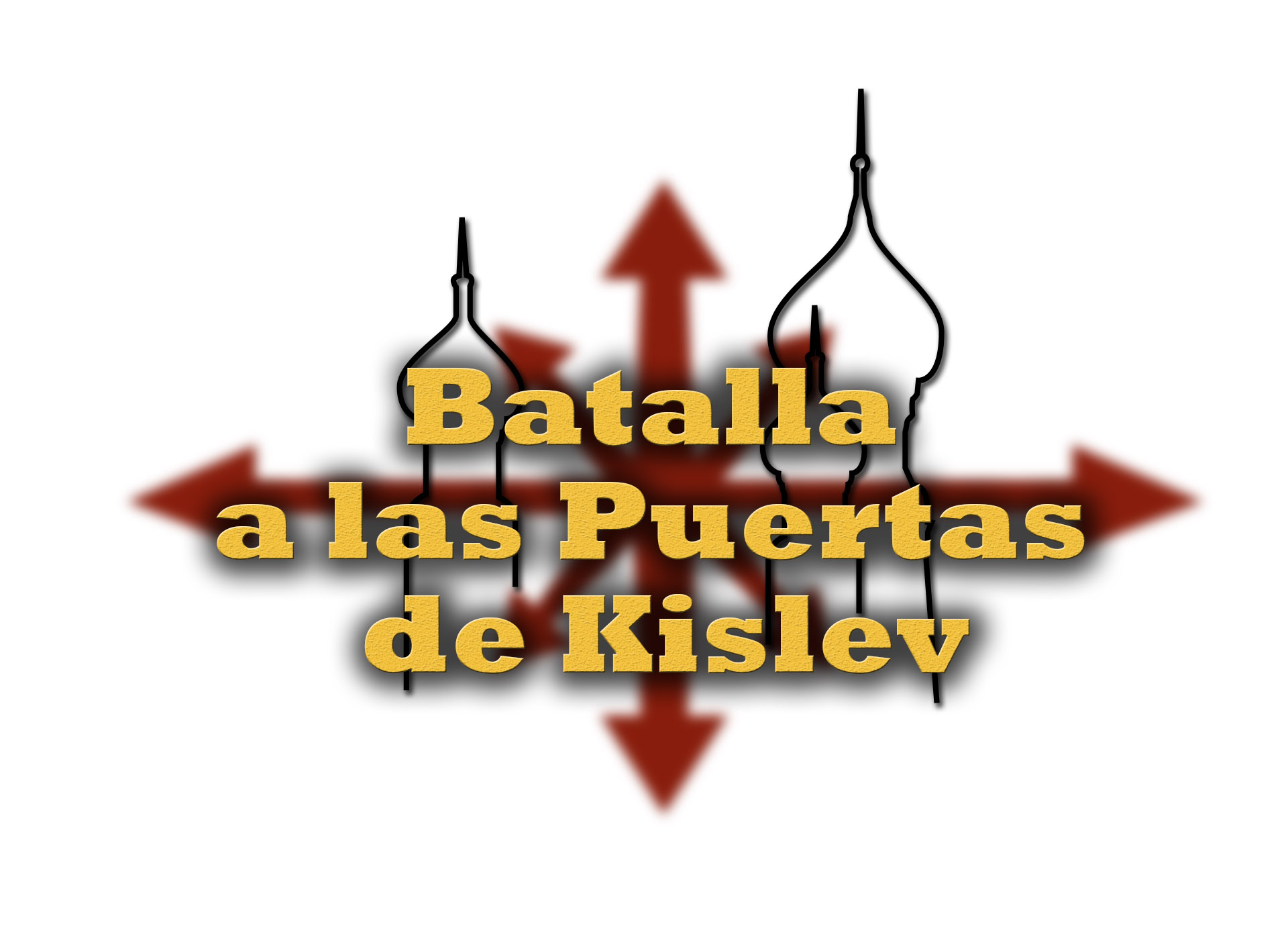 Logo Batalla Portes Kislev blanc