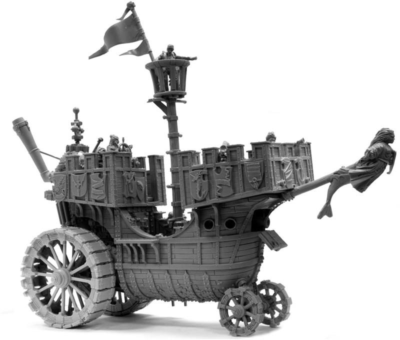 Marienburg class land ship
