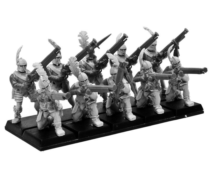Nuln Ironsides Handgunners