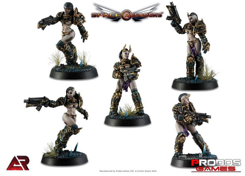 Prodos Space Crusade Caos marines