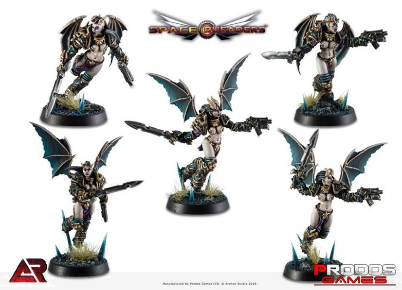 Prodos Space Crusade Caos rapaxes