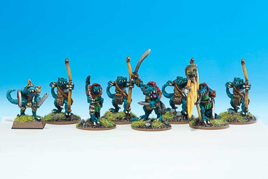 rr11 Karnac's Lizardmen Raiders