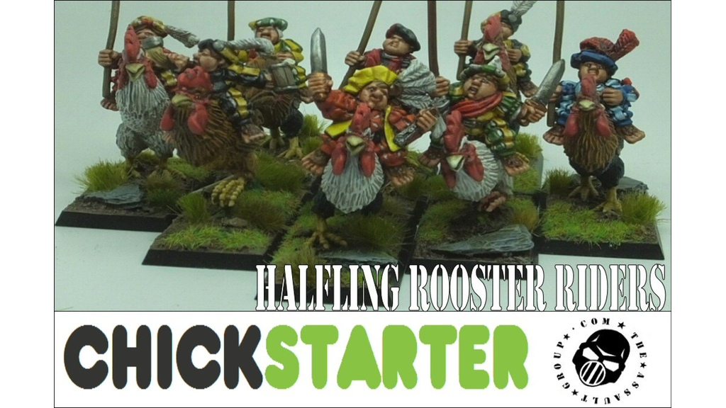 Halflings en gallo