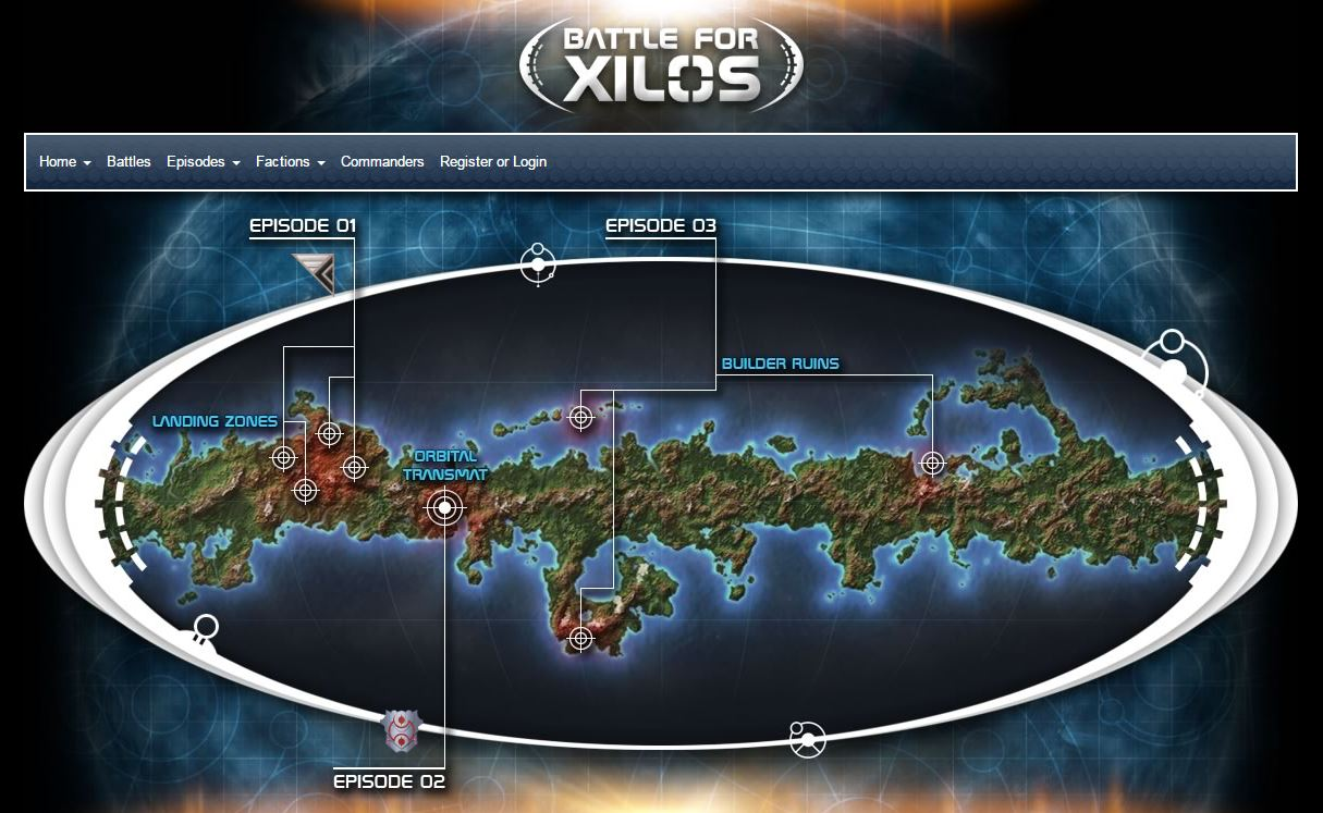Battle for Xilos Beyond the Gates of Antares