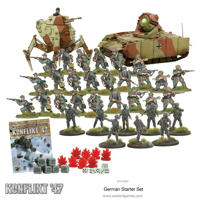 Konflikt-47 German starter